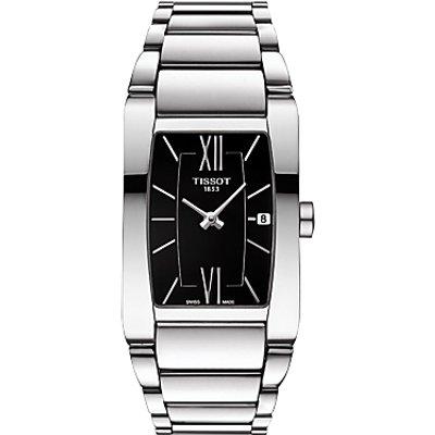 Tissot T1053091105800 Women s Generosi T Date Bracelet Strap Watch  Silver Black - 7611608275863