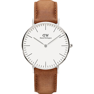 Daniel Wellington Women s Classic Durham Leather Strap Watch - 7350068244087