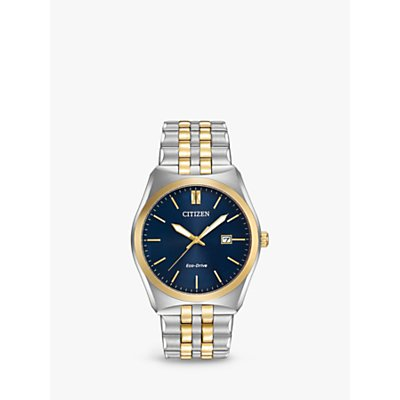 Citizen Men s Corso Date Bracelet Strap Watch - 4974374249418