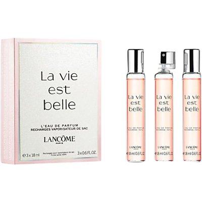 Lanc  me La Vie Est Belle Purse Spray   Refills  3 x 18ml - 3614271405296