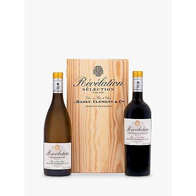 Revelation Chardonnay & Cabernet Merlot Gift Set, 2 x 75cl