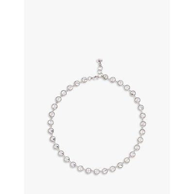 Ted Baker Rosele Rivoli Crystal Single Row Necklace - 5055336321522