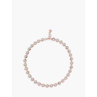 Ted Baker Rosele Rivoli Crystal Single Row Necklace - 5055336324769