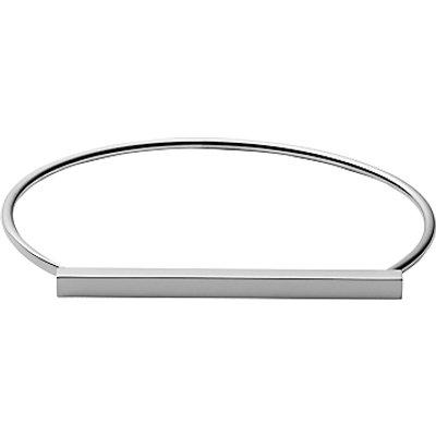 Skagen Anette Bar Hinged Bangle  Silver SKJ0901040 - 4053858711471