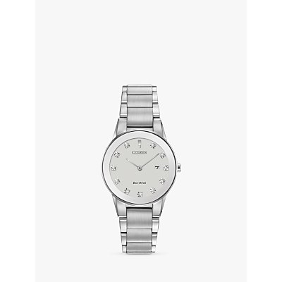 Citizen Women s Axiom Date Diamond Bracelet Strap Watch - 5060287464969