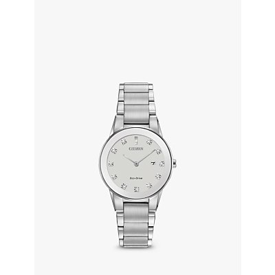 Citizen Women s Axiom Date Diamond Bracelet Strap Watch - 4974374246455