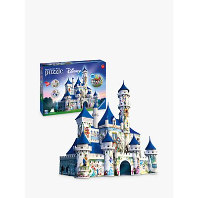 Ravensburger Disney Castle 3D Jigsaw Puzzle, 216 Pieces
