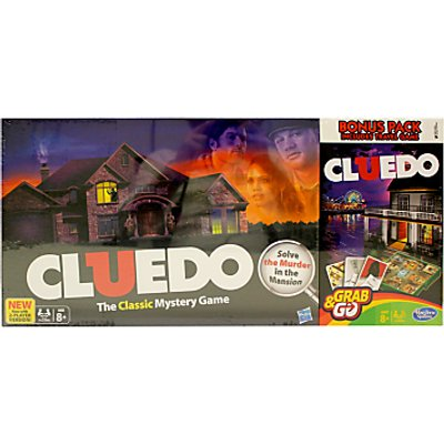 Cluedo Full Board & Travel Game