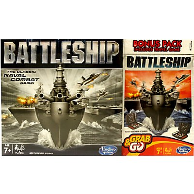 Battleship Full Board & Travel Games