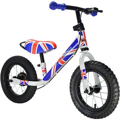 Kiddimoto Super Junior Max Union Jack Balance Bike