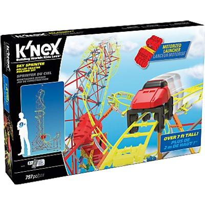 K'Nex Sky Sprinter Roller Coaster Building Set