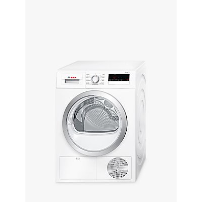Bosch WTN85200GB Condenser Tumble Dryer, 7kg Load, B Energy Rating, White