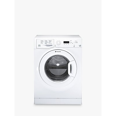 Hotpoint WMJLF842P Freestanding Washing Machine, 8kg Load, A++ Energy Rating, 1400rpm Spin, White