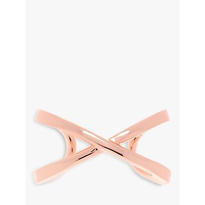 Karen Millen Criss Cross Open End Cuff - 5055336323496