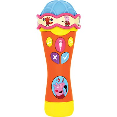 Peppa Pig Peppa's Sing and Learn Microphone