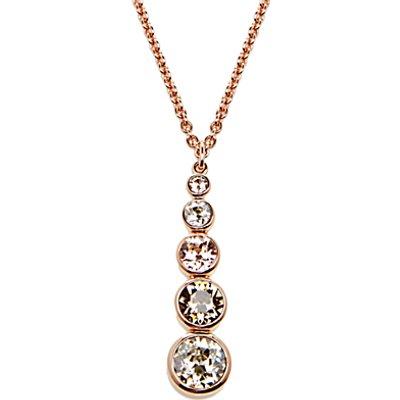 5055336325568 | Karen Millen Swarovski Teardrop Pendant Necklace