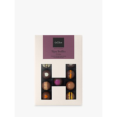 Hotel Chocolat Tipsy Truffles Hbox, Box of 14, 150g