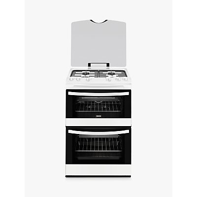 7332543419296 | Zanussi ZCG63010WA Gas Cooker  White
