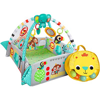Bright Starts 5 in 1 Ball Activity Play Gym - 074451107540