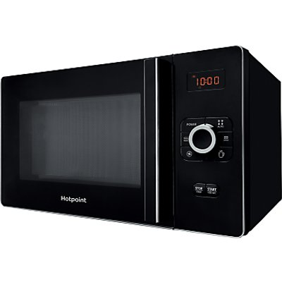 Hotpoint MWH2524B Freestanding Combination Microwave, Black