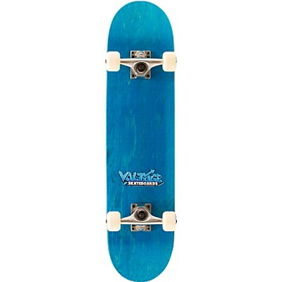 Voltage Skateboards Graffiti Logo SB1500 Complete Skateboard, Blue
