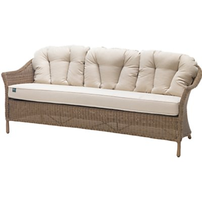 KETTLER RHS Harlow Carr 3 Seater Outdoor Sofa  Natural - 5057229129338