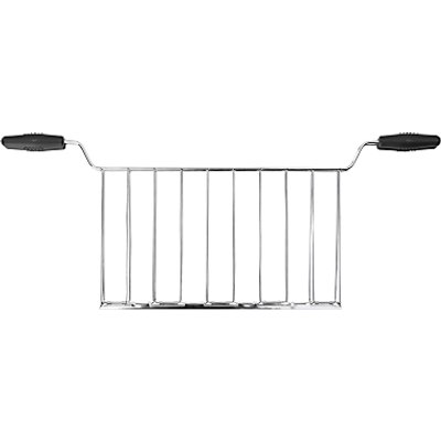8017709189341 | Smeg TSSR02 Sandwich Rack Set for 4 Slice Toaster  Stainless Steel