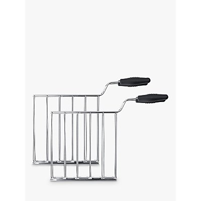 8017709189334 | Smeg TSSR01 Sandwich Rack Set for 2 Slice Toaster  Stainless Steel