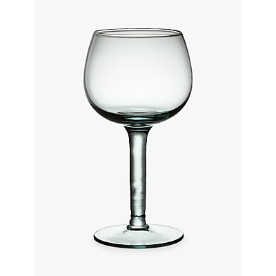John Lewis Croft Collection Recycled Glass  Red Wine  Clear - 23147096
