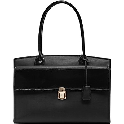 French Connection Clean Capri Tote Bag, Black