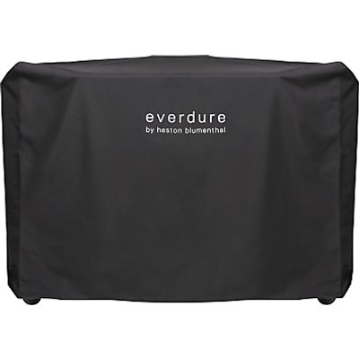 "everdure by heston blumenthal HUBâ""¢ Electric Ignition Charcoal BBQ Cover, Black"