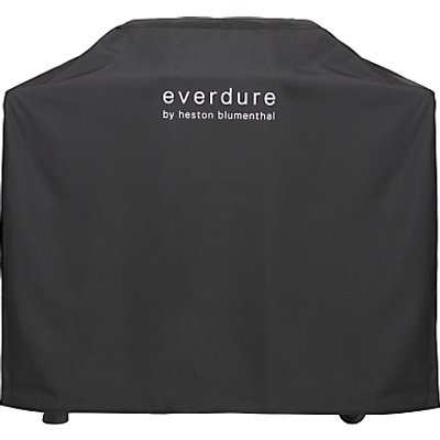 "everdure by heston blumenthal FORCEâ""¢ 2 Burner Gas BBQ Cover, Black"