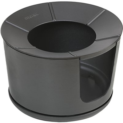 Morsø Bucket Charcoal Firepit BBQ, Black