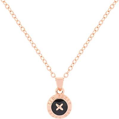 Ted Baker Elvina Enamel Mini Button Pendant Necklace - 5055336323175