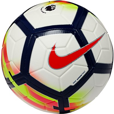 Nike Premier League Strike Football  Size 5  White - 883418062217