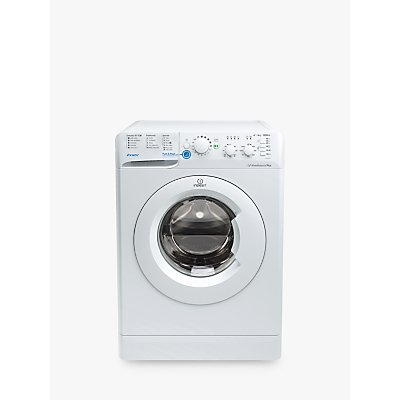 Indesit BWSC61252WUK Innex Freestanding Washing Machine, 6kg Load, A++ Energy Rating, 1200rpm Spin, White