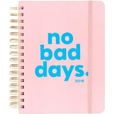 Ban do No Bad Days 2017 2018 Diary  Pink - 825466946187