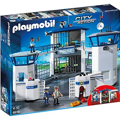Playmobil City Action Police Headquarters with Prison