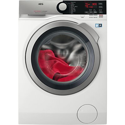 AEG ProSteam Technology L7FEE945R Freestanding Washing Machine, 9kg load, A+++ Energy Rating, 1400rpm, White