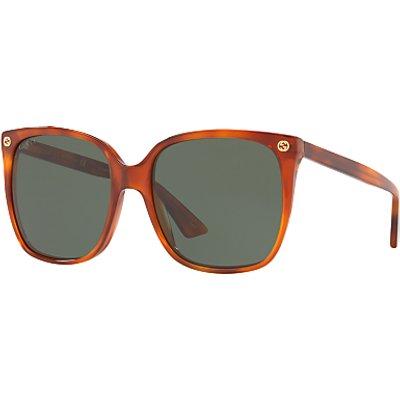 Gucci GG0022S Square Sunglasses - 889652048130