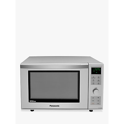Panasonic NN-DF386MBPQ Combination Microwave Oven, Silver