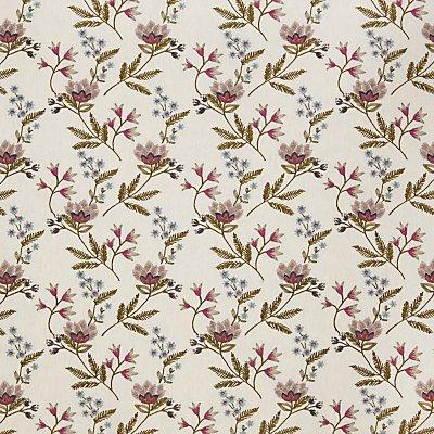 John Lewis Linnea Furnishing Fabric  Pink - 23345874