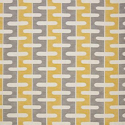 John Lewis Afanon Furnishing Fabric  Citrine - 23345225
