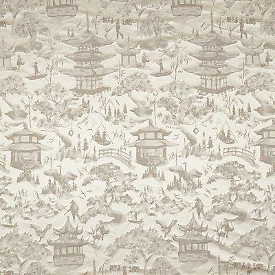 John Lewis Oriental Scene Furnishing Fabric - 23352896