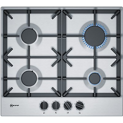 Neff T26DS49N0 Gas Hob  Stainless Steel - 4242004203384