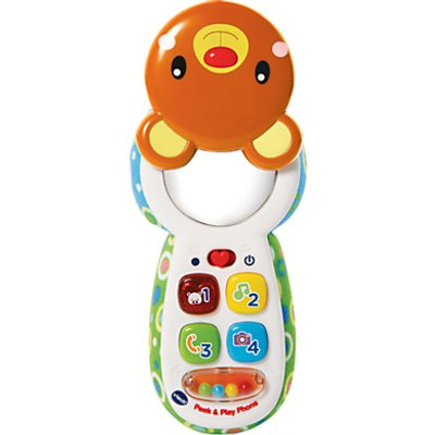 VTech Peek & Play Phone Baby Toy