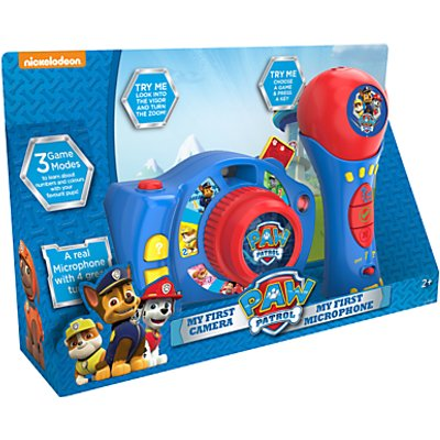 Paw Patrol My First Camera & Microphone