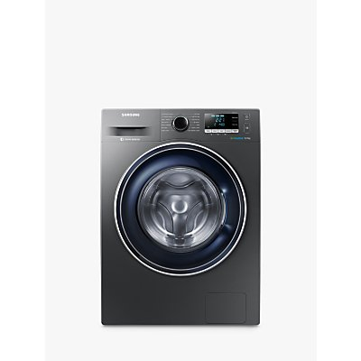 Samsung WW80J5456FX/EU ecobubble™ Freestanding Washing Machine, 8kg Load, A+++ Energy Rating, 1400rpm Spin, Graphite