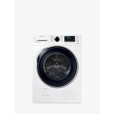 Samsung DV90K6000CW/EU Heat Pump Tumble Dryer, 9kg Load, A++ Energy Rating, White