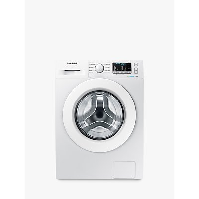 "Samsung WW70J5555MW/EU ecobubbleâ""¢ Freestanding Washing Machine, 7kg Load, A+++ Energy Rating, 1400rpm Spin, White"